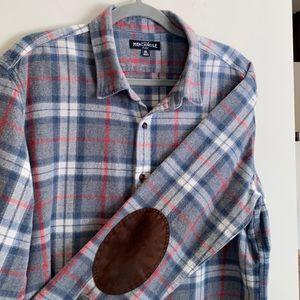 J Crew Flannel Shirt Men's